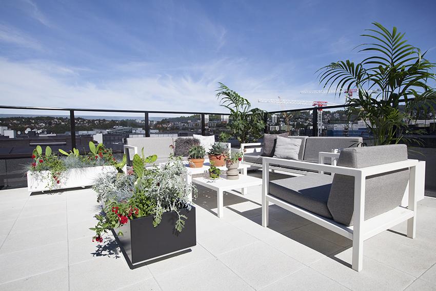 utendørs møbler til terrasse