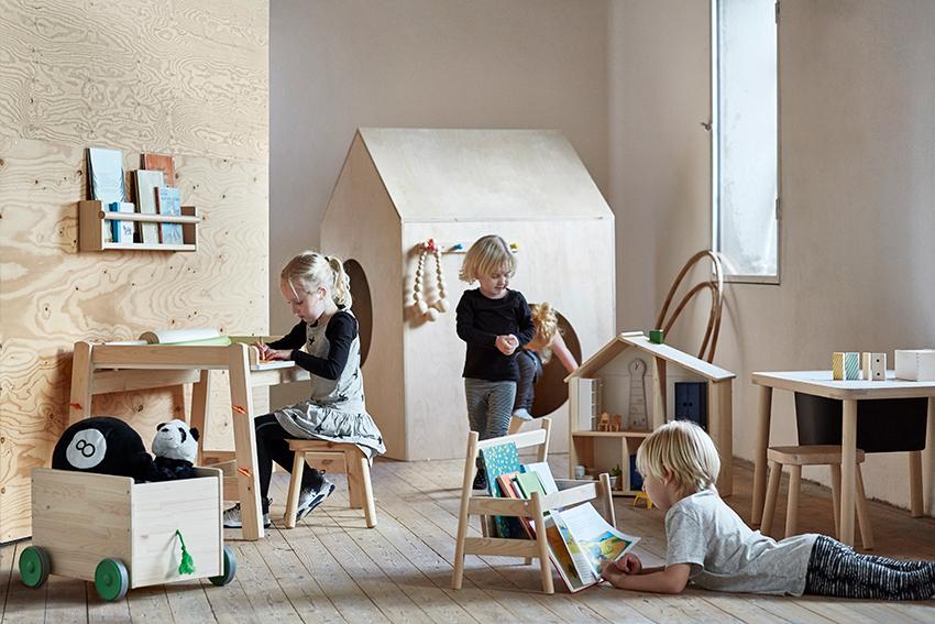 Barn på barnerom_IKEA