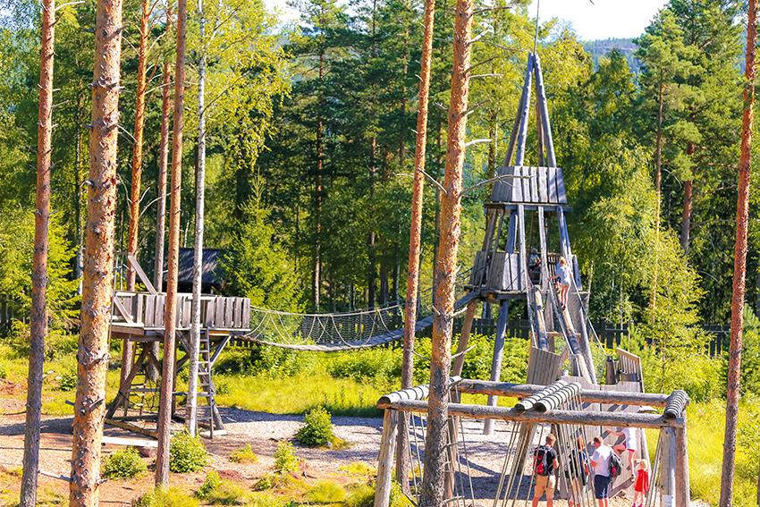 lekeområde i bjørneparken