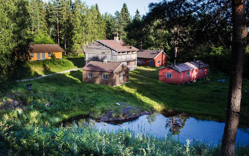 friluftsmuseet på Spiralen i Drammen