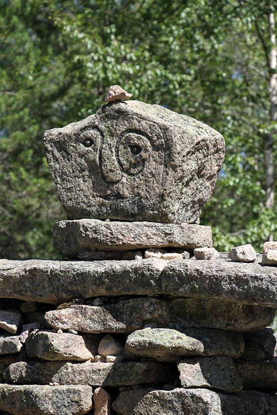 steinfigur