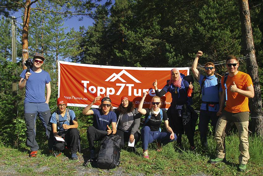 Topp7turen topptur på Torget 2019