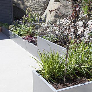 planter i blomsterkasse